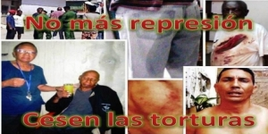 Arrestados el lunes 26 de mayo en Santa Clara, Cuba