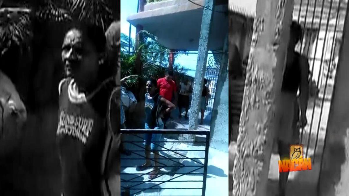 VIDEO: Vecinos impidieron desalojo en Cienfuegos, Cuba, FANTU