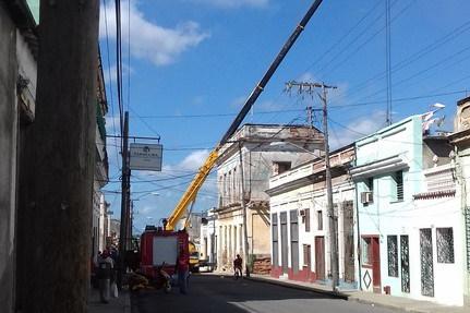 El palacio de Goytisolo en Cienfuegos está en fase de demolición (Copy)